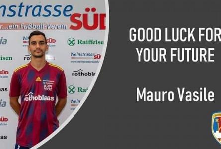 Der Verein Weinstrasse Süd verabschiedet sich von Mauro Vasile