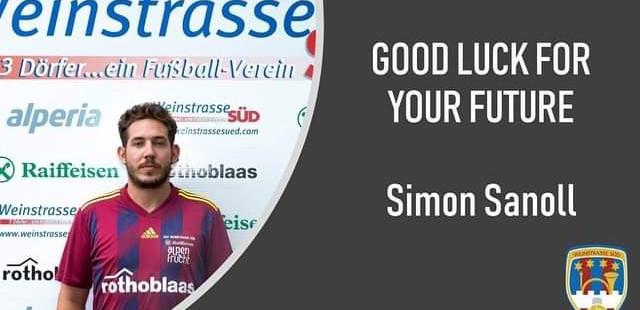 WS Süd verabschiedet sich von Simon Sanoll