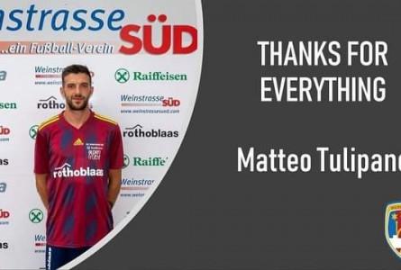 Der Verein verabschiedet sich von Matteo Tulipano